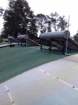 Máy nước nóng năng lượng mặt trời tại Hậu Giang