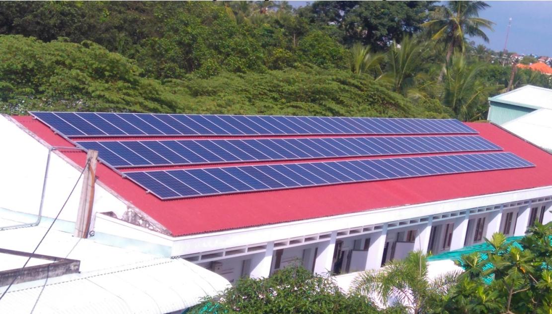 Máy nước nóng năng lượng mặt trời tại Kiên Giang
